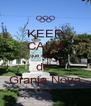 KEEP CALM que eu sou  de  Granja Nova - Personalised Poster A4 size