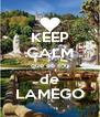 KEEP CALM que eu sou de LAMEGO - Personalised Poster A4 size