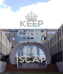 KEEP CALM que eu sou do ISCAP - Personalised Poster A4 size