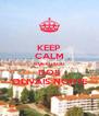 KEEP CALM QUE EU SOU DOS OLIVAIS NORTE - Personalised Poster A4 size