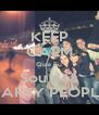 KEEP CALM Que Eu Sou dos PARTY PEOPLE - Personalised Poster A4 size