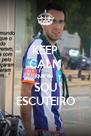 KEEP CALM que eu  SOU ESCUTEIRO - Personalised Poster A4 size