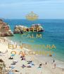 KEEP CALM QUE  EU VOU PARA O ALGARVE - Personalised Poster A4 size