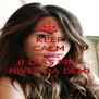 KEEP CALM Que Faltam 8 DIAS PRO NIVER DA DEMI - Personalised Poster A4 size