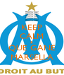 KEEP CALM & QUE GANE MARSELLA - Personalised Poster A4 size