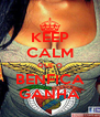 KEEP CALM QUE O BENFICA GANHA - Personalised Poster A4 size