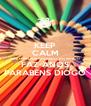 KEEP CALM QUE O MELHOR AFILHADO  DO MUNDO FAZ ANOS PARABÉNS DIOGO - Personalised Poster A4 size