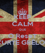 KEEP CALM QUE O ReseT CURTE GRÊLOS - Personalised Poster A4 size