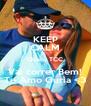 KEEP CALM Que o TCC Vai correr Bem! Te Amo Guria <3 - Personalised Poster A4 size