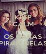 KEEP CALM QUE OS CARAS PIRAM NELAS - Personalised Poster A4 size