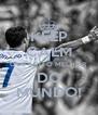KEEP CALM QUE SOU O MELHOR DO MUNDO! - Personalised Poster A4 size