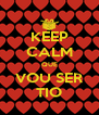KEEP CALM QUE VOU SER TIO - Personalised Poster A4 size