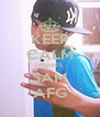 KEEP CALM respect  SAM AFG - Personalised Poster A4 size