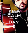 KEEP CALM RESTART DAY 0 - Personalised Poster A4 size
