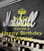 KEEP CALM Rockabilly & Happy Birthday DAVIDE - Personalised Poster A4 size