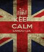 KEEP CALM SANDUTZA   - Personalised Poster A4 size