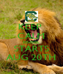 KEEP  CALM SCHOOL STARTS AUG 20TH - Personalised Poster A4 size