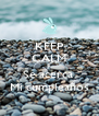 KEEP CALM & Se acerca  Mi cumpleaños - Personalised Poster A4 size