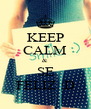 KEEP CALM & SE FELIZ :D - Personalised Poster A4 size