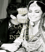 KEEP  CALM SHAHBAZ & MAHEEN ARE INFINITE - Personalised Poster A4 size