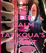 KEEP CALM SHOP IN TATIKQUA'S CLOSET - Personalised Poster A4 size