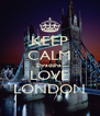 KEEP CALM Shraddha  LOVE LONDON - Personalised Poster A4 size