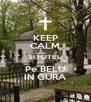 KEEP CALM Si FUTEL Pe BELU IN GURA - Personalised Poster A4 size