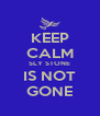 KEEP CALM SLY STONE IS NOT GONE - Personalised Poster A4 size