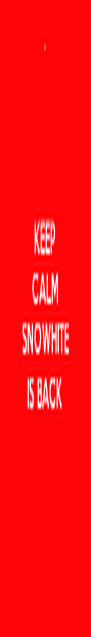 KEEP CALM : SNOWHITE IS BACK - Personalised Poster A4 size