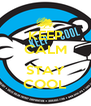 KEEP CALM  STAY COOL - Personalised Poster A4 size