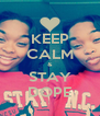 KEEP CALM & STAY DOPE - Personalised Poster A4 size