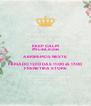 KEEP CALM #SuasLindas ABRIREMOS NESTE FERIADO 12/10 DÀS 11:00 áS 17:00 FRENETIKA STORE - Personalised Poster A4 size