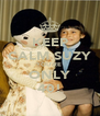 KEEP CALM SUZY YOU'RE ONLY 40! - Personalised Poster A4 size