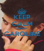 KEEP CALM SWEET CAROLINE  - Personalised Poster A4 size