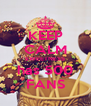 KEEP CALM SWEETNESS has 500 FANS - Personalised Poster A4 size