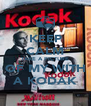 KEEP CALM TAKE A PICTURE OF MY WITH A KODAK - Personalised Poster A4 size