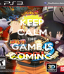 KEEP CALM THE GAME IS COMING  - Personalised Poster A4 size