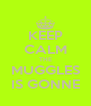 KEEP CALM THE MUGGLES IS GONNE - Personalised Poster A4 size
