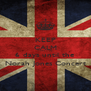 KEEP CALM there's only 6 days until the Norah Jones Concert - Personalised Poster A4 size