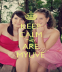 KEEP CALM THEY ARE MYLIVE - Personalised Poster A4 size