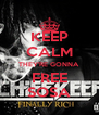 KEEP CALM THEY'RE GONNA FREE SOSA - Personalised Poster A4 size