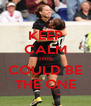 KEEP CALM THIS COULD BE THE ONE - Personalised Poster A4 size