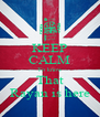 KEEP CALM To know That Rayan is here - Personalised Poster A4 size