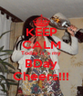 KEEP CALM Today it´s my BDay Cheers!!! - Personalised Poster A4 size