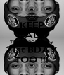 KEEP CALM TOMORROW is my 21st BDAY TOO !!! - Personalised Poster A4 size