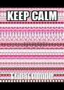 KEEP CALM Tribal tumblr - Personalised Poster A4 size