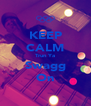 KEEP CALM Trun Ya Swagg On - Personalised Poster A4 size