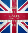 KEEP CALM U MAY LOSE THE BATTLE BUT WIN THE WAR - Personalised Poster A4 size