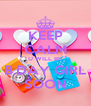 KEEP CALM U WILL BE B.DAY GIRL SOON - Personalised Poster A4 size