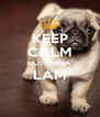KEEP CALM ULITHEMBA LAM  - Personalised Poster A4 size
